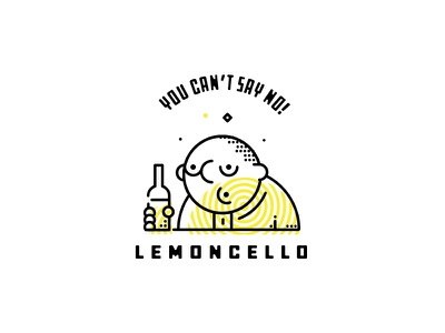Lemoncello branding lemoncello typography illustration
