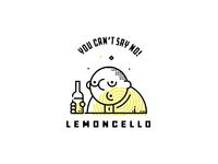 Lemoncello branding lemoncello typography illustration