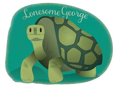 Lonesome George turtle tortoise