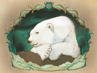 for Gus, Central Park's Polar Bear bear central park gus central park zoo polar bear polar