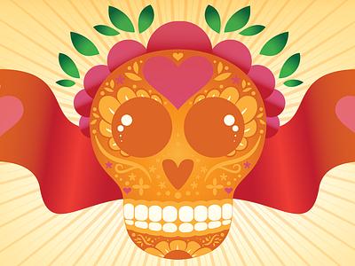 Dia de los Muertos dia de los muertos day of the dead skull