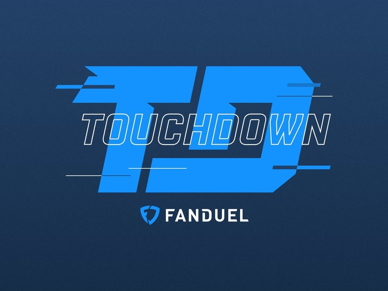 Touchdown Logo illustration art illustration design sketch illustrations illustrator adobe illustrator branding logo illustration football fantasy sports sport design fantasy fanduel