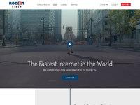 Rocket fiber home page