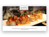 Shiro Sushi Website
