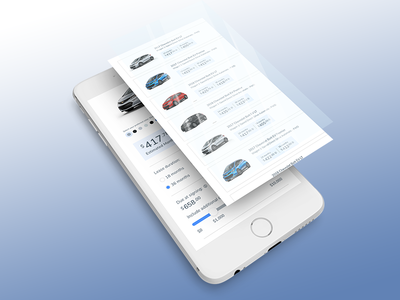 Lease Riot - Mobile product design app web app car leasing interface design ux ui responsive web mobile