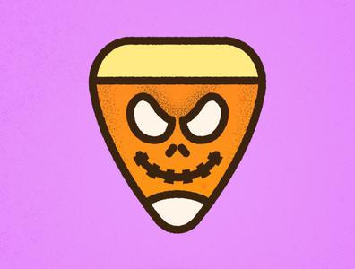 Corny Candy Corn Mashups | Jack Skellington