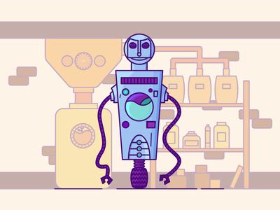 Gas Station Robots