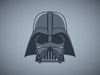 Darth Vader simple darthvader star wars design graphicdesign vector vector illustration illustration