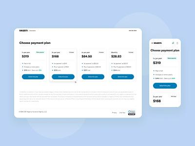 Payment plans payment plan