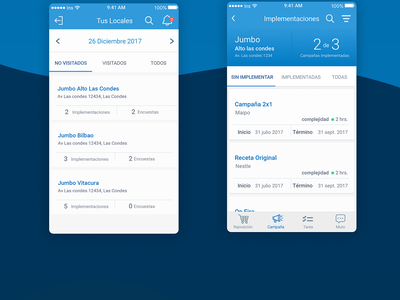 ISV Agency UX/UI empty state task to do agency android ios ui ux app