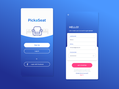 Sign up chile deisgner ux 100 daily ui daily 100 form buttons seat app sketch 2 sign in login sign up ui daily art daily ui