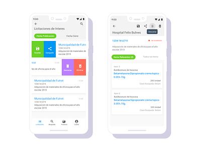Point mockups wireframe user flow cards tabs slide green sketch bidding hybrid android ios interface design ui ux