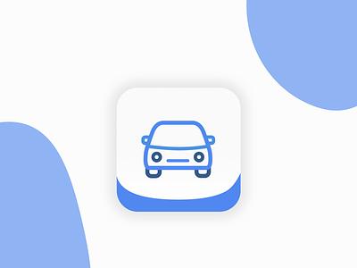 App Icon blue dribbble dailyui 5 daily challange vector android dailyui illustration branding logo ios ui ux design sketch 100 daily ui daily 100 icon app