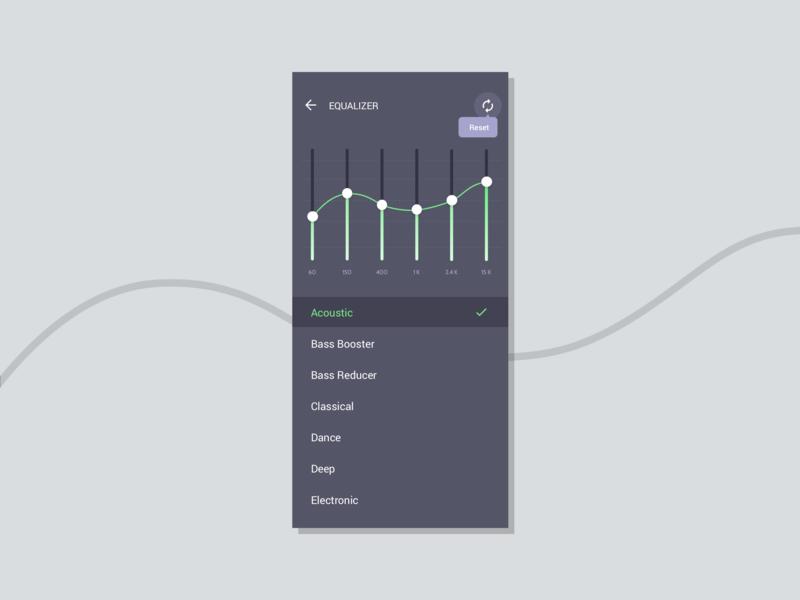 Settings settings ui new sound music settings equalizer vector dribbble dailyui ios 100 daily ui app daily 100 sketch design ux ui