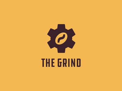 ThirtyLogos #2: The Grind ddc hardware grunge brand thirtylogos thirtylogoschallenge coffee logo branding design