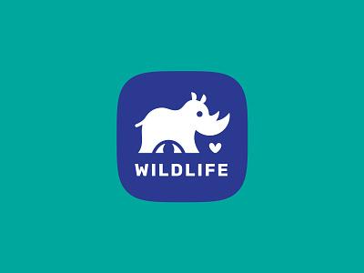ThirtyLogos #5: Wildlife rhino vector brand thirtylogos thirtylogoschallenge logo branding design