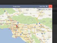 Google Maps Modal