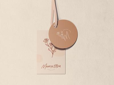 Mama Elsa Branding boho branding boutique branding fashion brand ethical fashion ethical branding hand type logo type typography logo branding