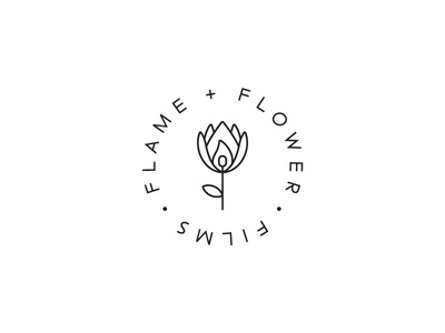 Flame + Flower Logo