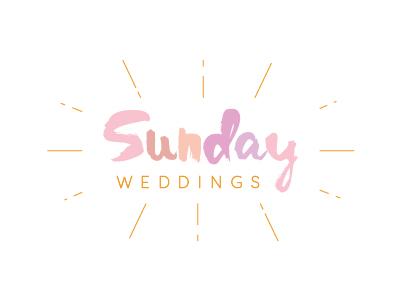 Sunday Weddings Logo