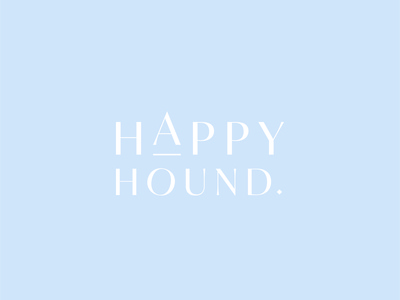 Happy Hound - Logo Type