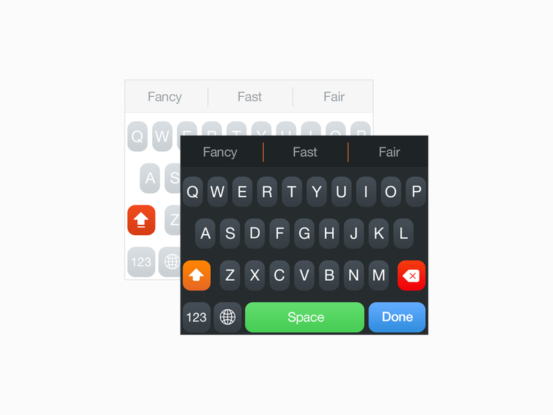 Themeboard keyboards (2014) archive ipad apple system change style visual development ios app ios themeboard taphive ios8 keyboards