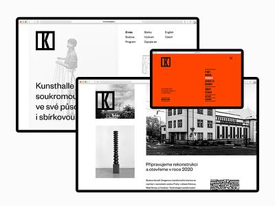Kunsthalle Prague – concepts moma gallery art practice app interface website design indentity concept design archive concepts studio najbrt najbrt prague kunsthalle