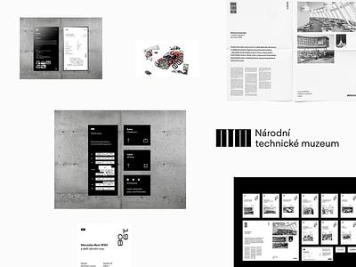 NTM – visual identity (2017) oldschool project dissertation old dolejš ntm logos identity branding archive identity design logo identity