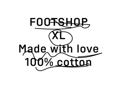 Footshop – custom typeface najbrt studio najbrt identitydesign graphic typefaces fontlab glyphs font brand new typeface design identity illustration carbanica footshop foot typeface
