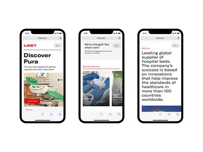 Linet – web concept 1 prague uidesign ux design ux app new iphone studio najbrt interface najbrt identity website design user interface