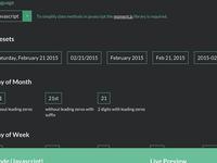 Date/Time Format Generator