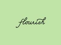 subtle flourish green lettering script handlettering