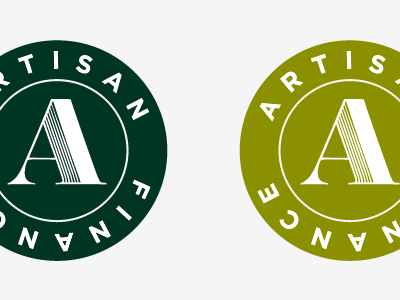 Artisan Finance Seal finance green seal circle badge