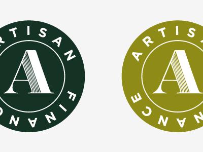 Artisan Finance Seal finance green seal circle badge