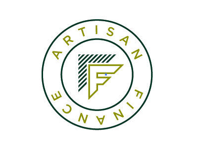 Artisan Finance Seal Concept finance green seal circle badge
