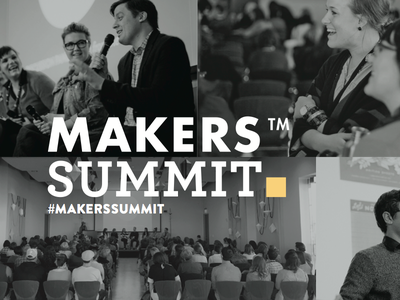 Makers Summit Concept futura archer yellow conference summit