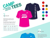 YMCA Camp Tee Flyer