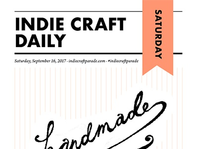 Artist Newsletter greenville sc indie craft parade newsletter design print newspaper