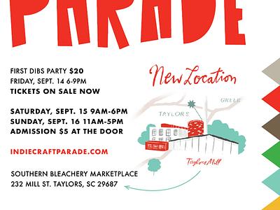 2018 Indie Evolution triangles craft indiecraftparade parade flags