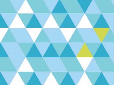 refined pattern pattern blue green triangles