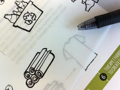 refining sketches sketch pen ink apparel