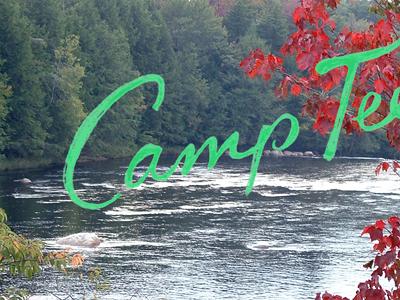 Handlettering hand lettered camp cursive