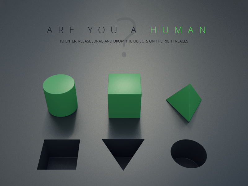 Are You A Human question captcha bot human test