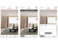Apartment searching app (wireframes)