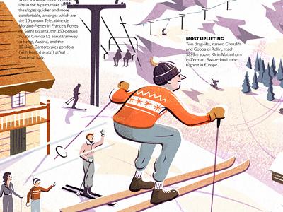 Season of the Ski alps skiing snow winter sport