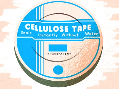 Roche cellulose tape scotch tape