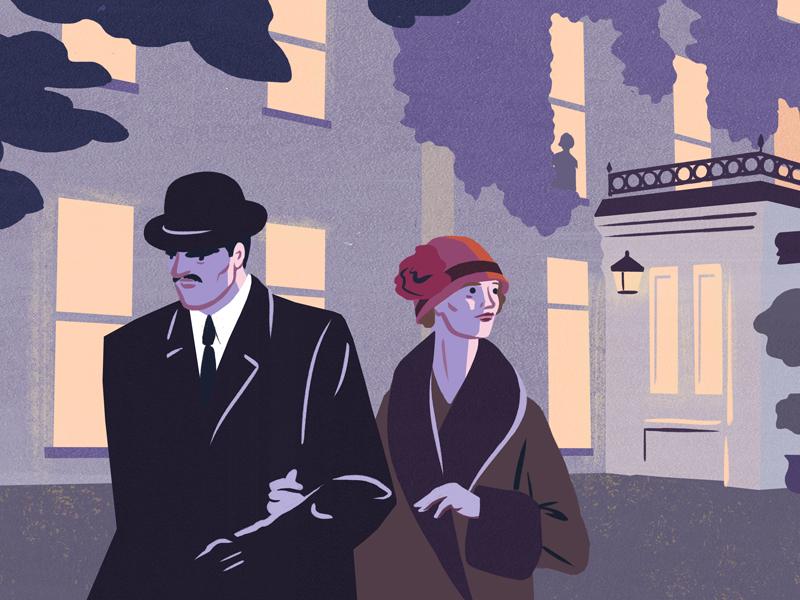 Agatha Christie furcoat spooky 1920s murdermystery hotel agathachristie