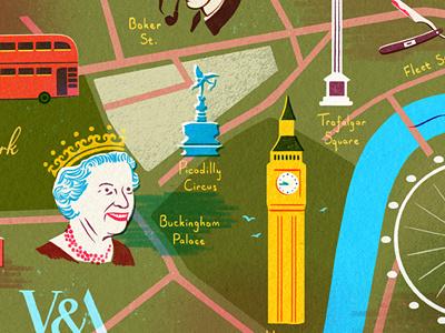 Landan london queen houses of parliament big ben river ma