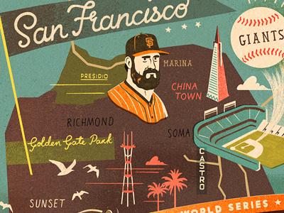World Series Champs giants world series champions baseball san francisco sf map