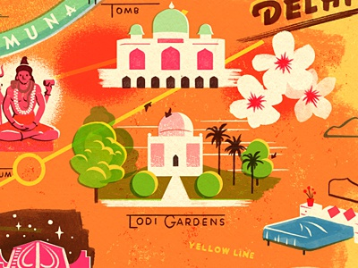 Delhi Map delhi india lodi gardens yamuna river flower